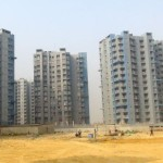 Cada torre da Bharat City tem suas estruturas montadas em 105 dias