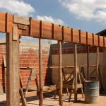 Cimbramento em madeira: ainda é utilizado, mas limita-se cada vez mais a obras residenciais