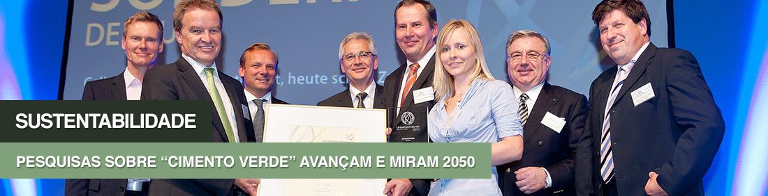 Na Alemanha, está em processo de implantação a primeira planta-piloto para produzir o material sem a utilização de clínquer