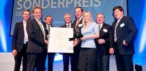 Pesquisadores do KIT receberam o prêmio de tecnologia ambiental, concedido pelo governo alemão
