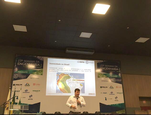 Fábio Wosniak: Brasil perdeu quase um século em aprendizado sobre sismos, por demorar a publicar norma técnica sobre o tema