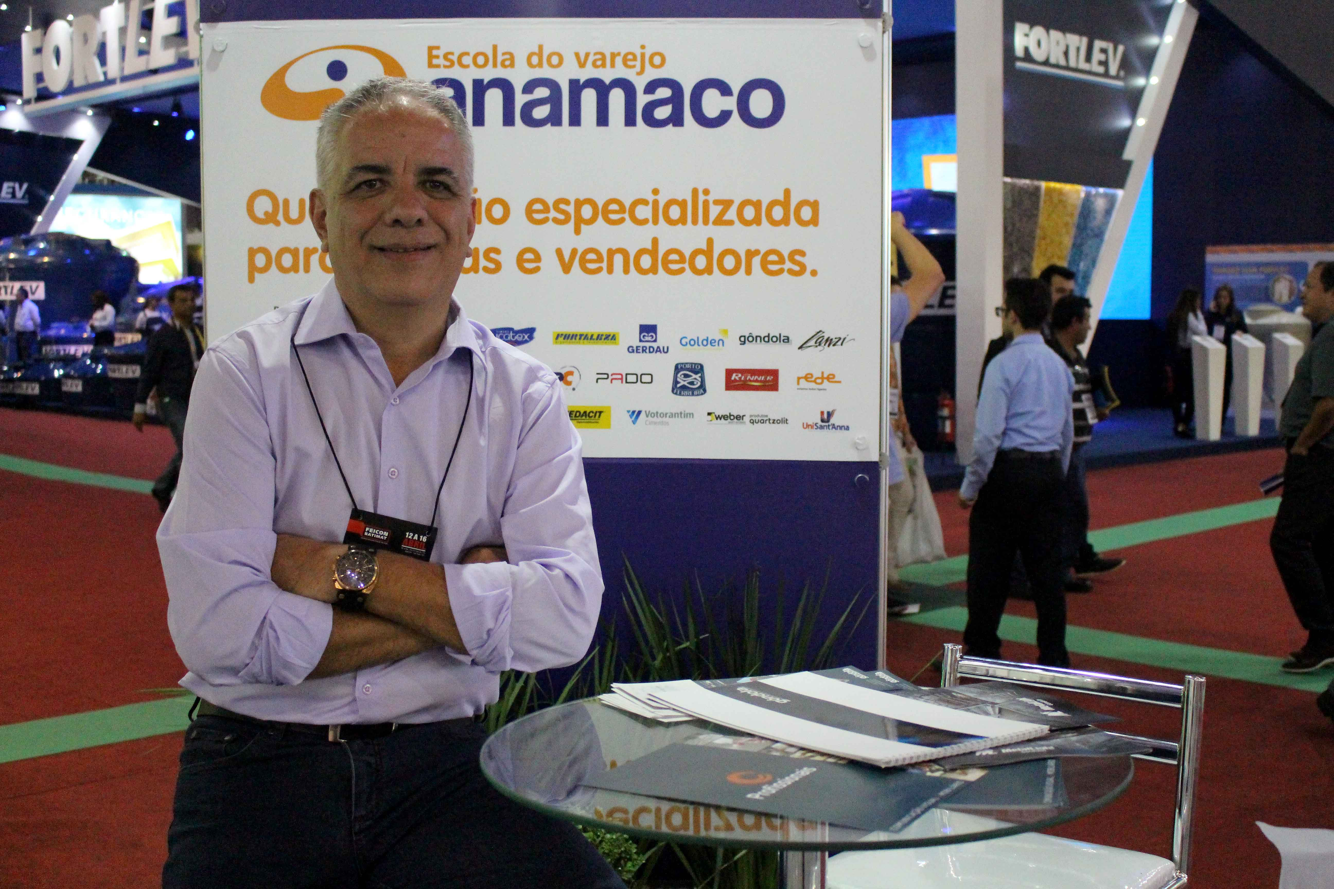 José Carlos de Araújo, da Anamaco: perspectiva de melhora econômica do país também deve impulsionar vendas. Crédito: Anamaco.