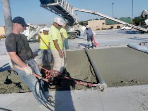 Precisão na construção da pista é um requisito do qual os construtores não abrem mão, a fim de conquistar novos mercados. Crédito: Nebrconcagg.