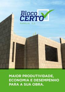 Manual Bloco Certo: orientações de como construir com melhor qualidade e maior produtividade