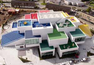 Lego House, na Dinamarca: parece de brinquedo, mas é de verdade.