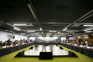 Reunião da 51ª Cúpula dos Chefes de Estado do Mercosul e Estados Associados, em Brasília: mercado aberto às construtoras brasileiras. Crédito: Marcelo Camargo/Agência Brasil.
