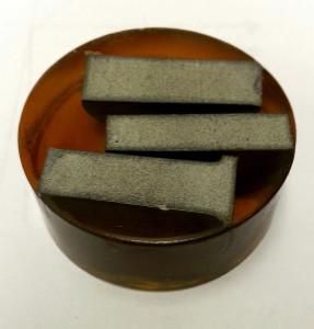 Blocos de concreto com nanocristais de celulose: material, agora, será usado em construção de ponte. Crédito: Purdue University