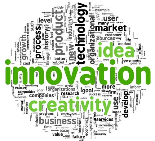 Cidades e organizações que investem em talentos geram nuvens de inovações. Crédito: Shutterstock