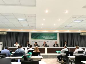 Seminário realizado em Florianópolis-SC debateu inovações e tendências para o segmento de concreto pré-fabricado. Crédito: Cia. de Cimento Itambé