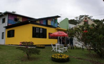 Casa da Leitura Parque Barigui, Curitiba - PR. Reforma da estrutura