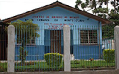 Centro de Amparo ao Menor Nossa Senhora do Monte Claro, São José dos Pinhais – PR. Doação de cimento