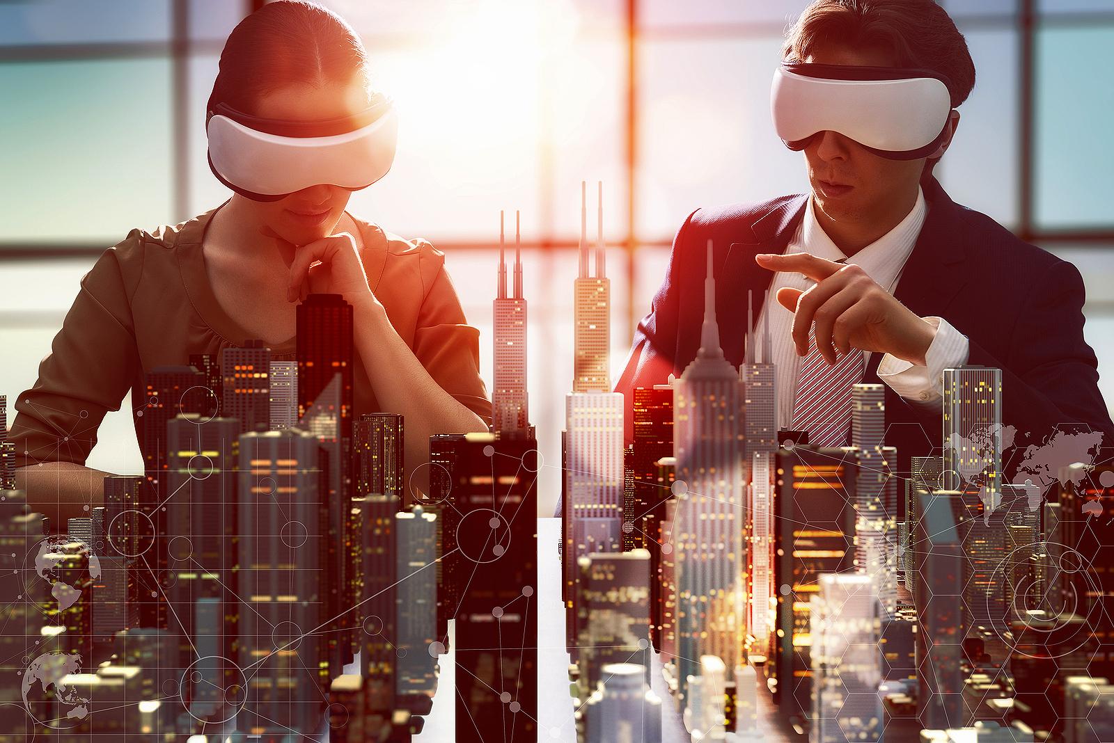 Startups que trabalham com realidade aumentada e realidade virtual estão entre as que se destacam no novo mundo da construção. Crédito: Divulgação