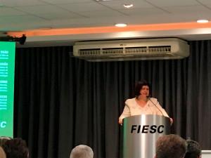 Íria Doniak, da Abcic: 23 indústrias já possuem o selo e outras estão em processo de pré-auditoria no Brasil. Crédito: Cia. de Cimento Itambé