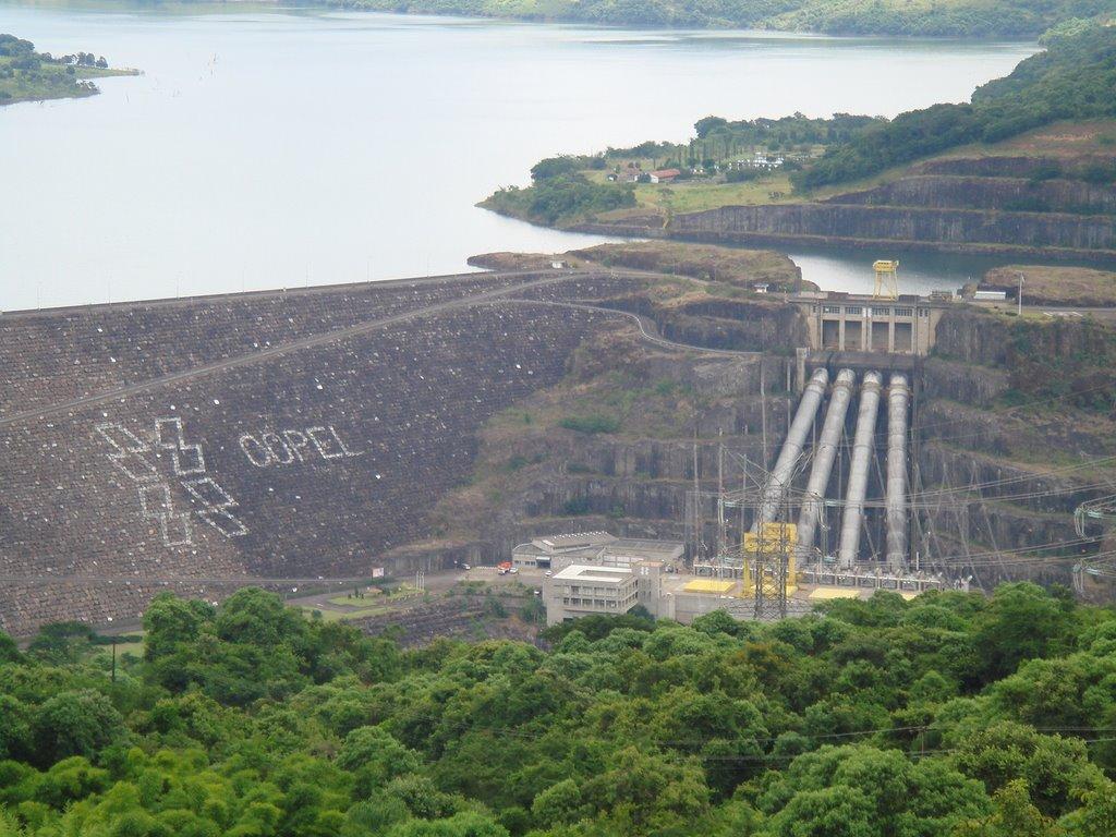 Usina Hidrelétrica Governador Ney Aminthas de Barros Braga_Usina Hidrelétrica de Salto Segredo