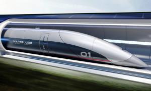 Estruturas do Hyperloop de Abu Dhabi são fabricadas em Toulouse, na França. Crédito: Hyperloop TT