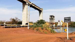 Ferrovia Norte-Sul: sem a ligação com São Paulo, ferrovia deixa de escoar R$ 12 bilhões por ano em cargas. Crédito: Flávio Correa/VALEC