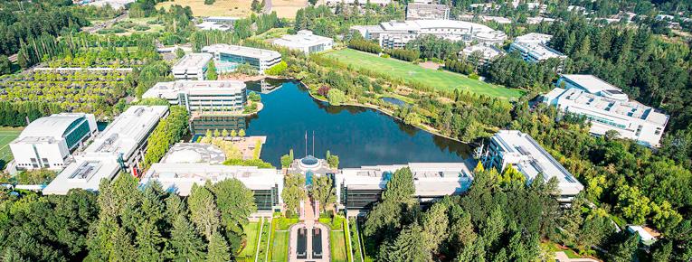 No Campus, cada prédio receberá o nome de um atleta famoso patrocinado pela Nike. Crédito: Nike Inc.