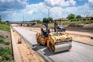 Testes laboratoriais mostraram que o concreto reciclado permitirá que o novo pavimento dure mais de 40 anos. Crédito: MDOT