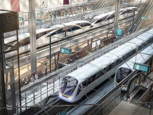 Projeção mostra como serão as estações de metrô no Catar, para a Copa do Mundo de 2022. Crédito: Supreme Committee for Delivery & Legacy