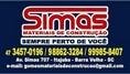 Logo Simas Mat Construcao