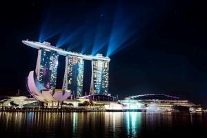 Marina Bay Sands: o resort mais caro do mundo. Crédito: Divulgação