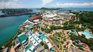 Resorts World Sentosa: maior oceanário do mundo. Crédito: Divulgação