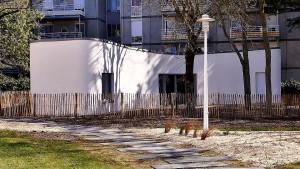 Residência impressa em Nantes, na França: tecnologia quebra paradigmas da construção civil. Crédito: UIT Nantes