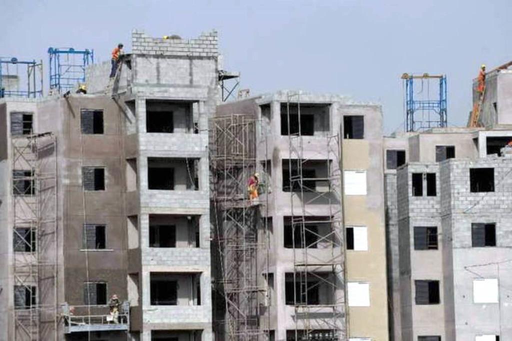Mercado imobiliário precisa atingir o equilíbrio entre lançamentos e estoque, sob o risco de faltarem imóveis se o país crescer 3% ao ano. Crédito: Paulo Fridman/Bloomberg