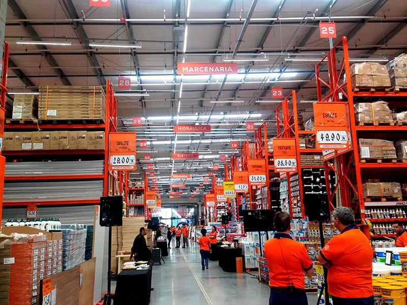 Obramax traz novo modelo de venda de materiais de construção, com foco no pequeno e médio construtor e no comércio varejista. Crédito: Thais Ferreira/ Diário do Comércio