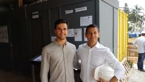 Thomas Gomes e Marlus Doria