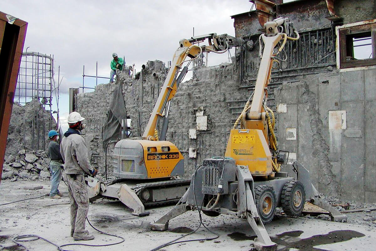 robos construção