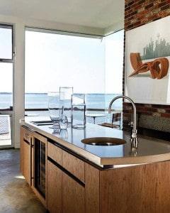 Concreto em cozinhas:
