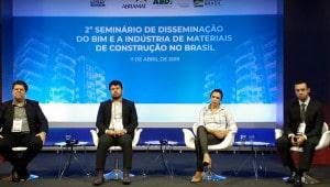 Seminário da ABDI e da ABRAMAT revelou plano do governo federal para que BIM seja integrado às obras públicas. Crédito: Youtube