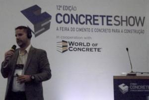 Luiz Antônio Oliveira Rosa: industrializar o canteiro de obras é mudar as pessoas de posicionamento dentro da cadeia de produção Crédito: Cia. de Cimento Itambé