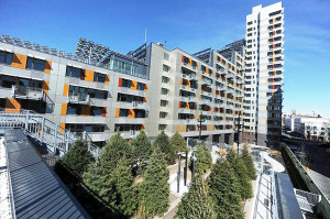 Via Verde, no Bronx, em Nova York: modelo de construção sustentável viabilizado com alvenaria estrutural Crédito: Enid Alvarez/New York Daily News