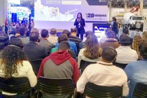 Ananda Maia Betonio, do SEBRAE-SP: é necessário entender o cliente para agradar ao cliente. Crédito: Concrete Show 2019