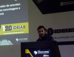 Eduardo Tassi Damião estuda os problemas relacionados com a concretagem desde os anos 1990 Crédito: Cia. de Cimento Itambé