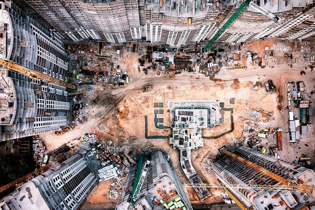 Quanto maior a obra, mais integração deve haver entre os departamentos de engenharia, suprimentos e financeiro Crédito: Banco de Imagens