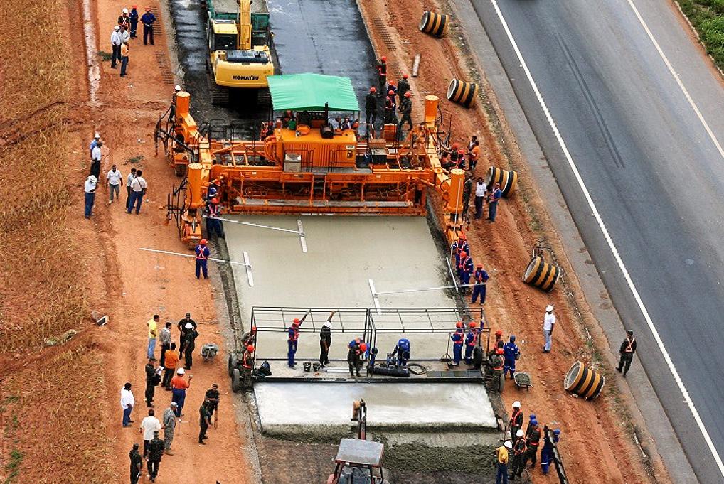 ABCP, IBRACON e ABESC mostraram na Expo Paving que a tecnologia de pavimento de concreto está muito desenvolvida no Brasil Crédito: Expo Paving
