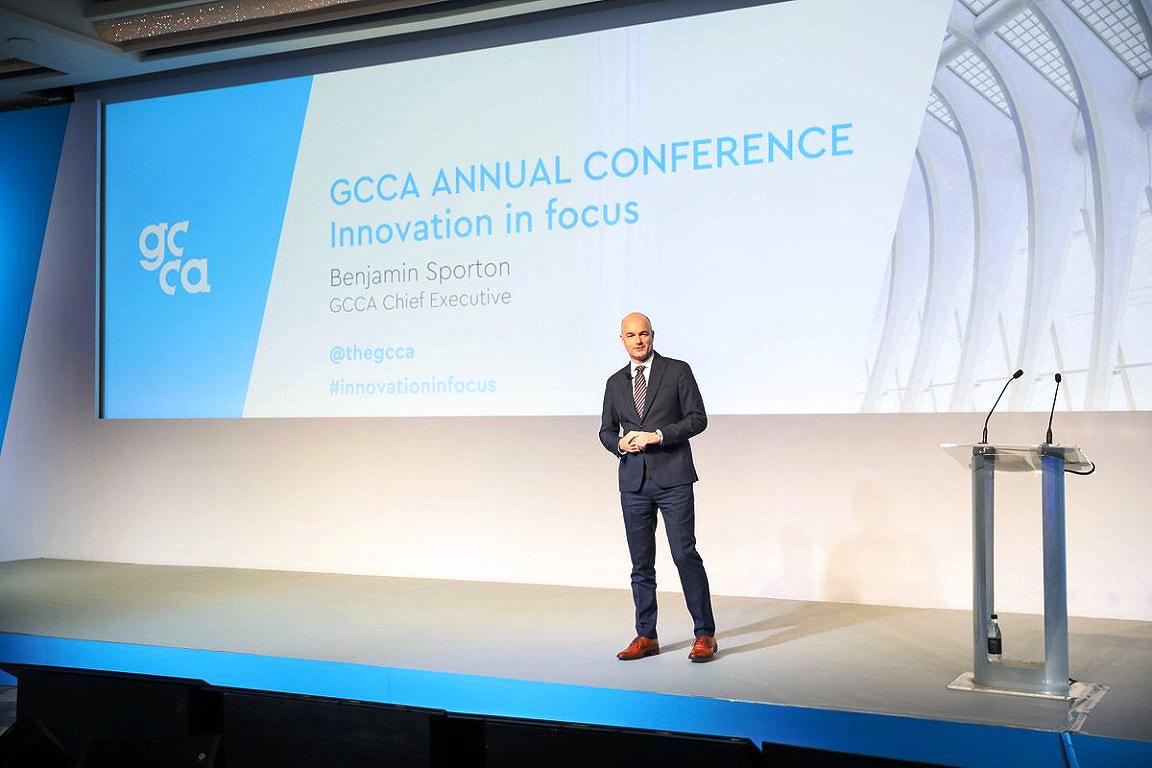 Benjamin Sporton, CEO da GCCA: com a Innovandi reuniremos as melhores mentes de todos os cantos do mundo do cimento e do concreto Crédito: GCCA