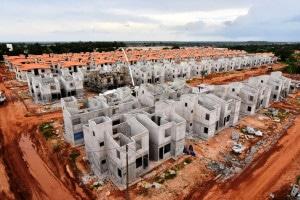 Atualmente, 222 mil unidades do Minha Casa Minha Vida estão em construção no país Crédito: Agência Brasil