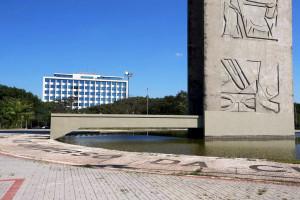 Campus da USP, em São Paulo-SP: universidade é referência em engenharia civil no Brasil Crédito: USP