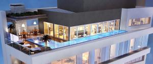 Prédio superluxo tem como característica oferecer apartamento com jeito de mansão Crédito: Banco de Imagens