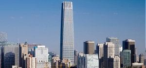 China World Trade Center: elementos da natureza serviram de base para projetar as torres inauguradas em 2017, em Pequim Crédito: SOM