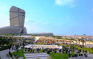 Antes de conseguir a premiação máxima do ACI, projeto do Ithra precisou concorrer com outras obras no Oriente Médio e na Ásia. Crédito: Saudi Aramco