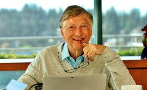 Bill Gates: investimento em ConstruTech que desenvolve concreto capaz de capturar CO2. Crédito: GatesNote