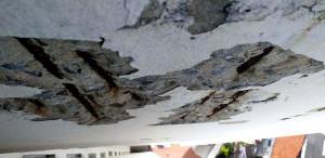 Corrosão de armaduras está entre as manifestações patológicas mais preocupantes em uma obra. Crédito: Banco de Imagens