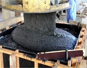 Concreto de pós reativos tem especificações bem superiores às de um concreto convencional. No Brasil, o material é pesquisado na Unisinos-RS. Crédito: Divulgação/ITT Performance-Unisinos