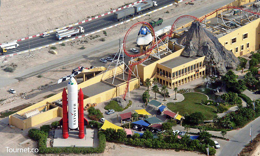 Dubailand: parceria com a Disney e obras orçadas em 64 bilhões de dólares. Crédito: Dubailand