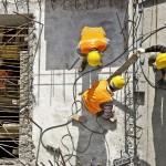 Construção civil encerra 2019 puxando a produtividade da indústria e em viés de alta para 2020. Crédito: Banco de Imagens